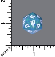Dice : D20 MTG OPAQUE ROUNDED SPECKLED WIZARDS OF THE COAST MTG COLDSNAP 02