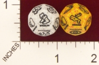 Dice : D12 OPAQUE ROUNDED SPECKLED CHESSEX FOR RPGSHOP D AND D SKILLS 01