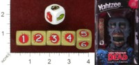 Dice : MINT42 USAOPOLY THE WALKING DEAD YAHTZEE