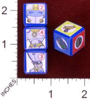 Dice : MINT30 PRINT AND PLAY PRODUCTIONS CHUNKY FIGHTERS SPACE RANGER 01