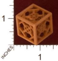 Dice : MINT31 SHAPEWAYS STUFFVILLE INDUSTRIAL DIE STEEL 01