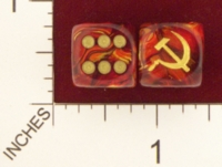 Dice : MINT20 CHESSEX AXIS AND ALLIES SOVIET UNION 01