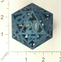 Dice : MINT23 SHAPEWAYS YOUKNOWWHO4EVA LARGER GLASS DIE TEST 01