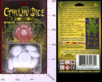 Dice : MINT29 STEVE JACKSON GAMES CTHULHU DICE 02