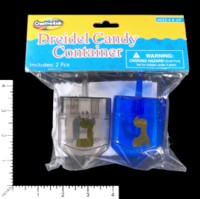 Dice : MINT60 CREATIVE KIDS DREIDEL CANDY CONTAINER