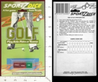 Dice : MINT24 TEVELE SPORTZDICE GOLF 01