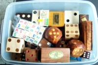 Dice : CONTAINERS WOOD