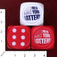 Dice : FOAM3 NEW YORK LOTTERY