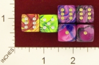 Dice : MINT21 CRYSTAL CASTE TOXIC 02