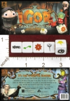 Dice : MINT28 R AND R GAMES IGOR THE MONSTER MAKING GAME 01
