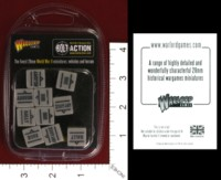 Dice : MINT33 WARLORD GAMES BOLT ACTION ORDER DICE GREY 01