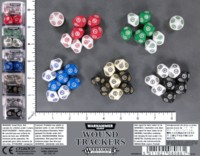 Dice : MINT59 GAMES WORKSHOP WARHAMMER 40000 AGE OF SIGMAR WOUND TRACKERS