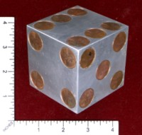 Dice : MINT46 UNKNOWN ALUMINIUM PENNIES