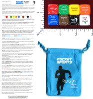 Dice : MINT46 POCKET SPORTS RUGBY NEW EDITION