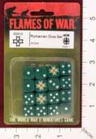 Dice : MINT27 FLAMES OF WAR DD013 ROMANIAN DICE 01