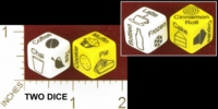 Dice : MINT27 ERIC HARSHBARGER COFFEE SHOP DICE 01