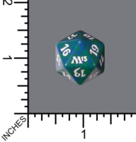 Dice : D20 MTG OPAQUE ROUNDED SPECKLED WIZARDS OF THE COAST MTG M13 05