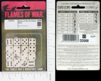 Dice : MINT15 FLAMES OF WAR STING OF THE SCORPION 01