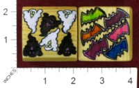Dice : MINT36 PEARCY1966 BATS AND GHOSTS