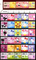 Dice : MINT25 SANRIO HELLO KITTY 01
