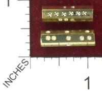 Dice : MINT41 TOMAS THE LAPIDARY BRASS STICK D6