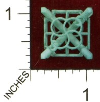 Dice : MINT43 SHAPEWAYS MCTRIVIA D6 GRID DIE 15 11