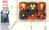 Dice : MINT19 CHESSEX FOR ZOMBIEDICE DOT COM DICE OF THE DEAD 01