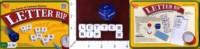 Dice : MINT36 UNIVERSITY GAMES LETTER RIP