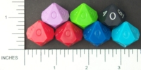 Dice : BRAND DIAMOND D10 OPAQUE 01