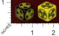 Dice : MINT43 TINDERBOX ENTERTAINMENT DICE EMPIRE SERIES 1 THE HAZARD DUKES NUKE DUKE