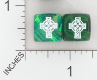 Dice : MINT16 CHESSEX CELTIC CROSS 01