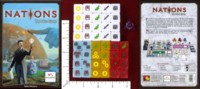 Dice : MINT46 LAUTAPELIT FI NATIONS THE DICE GAME