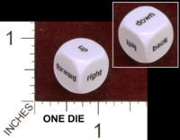 Dice : MINT34 KOPLOW UP FORWARD RIGHT DOWN BACK LEFT 01