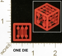 Dice : MINT25 SHAPEWAYS MCTRIVIA GRID DIE 01