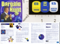 Dice : MINT18 UPSTARTS BARGAIN HUNT THE GAME 01