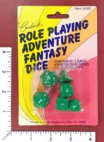 Dice : MINT52 CRISLOID ROLE PLAYING ADVENTURE FANTASY DICE