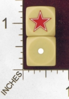 Dice : MINT28 NERO GAMING DICE ALLIES SOVIET STAR 01