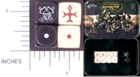 Dice : MINT10 GALE FORCE NINE FOR PRIVATEER PRESS WARMACHINE PROTECTORATE OF MENOTH 01