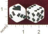 Dice : MINT28 UNKNOWN SPADE PIPS 01