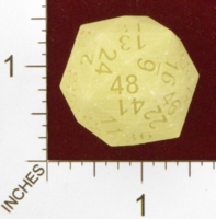 Dice : MINT25 SHAPEWAYS FRIZ 48 SIDED DICE SOLID 02