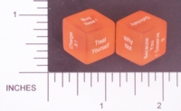 Dice : NON NUMBERED TRANSLUCENT ROUNDED SOLID DESTINY DICE SHOPPERS 01