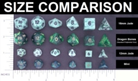 crystal caste size comparison
