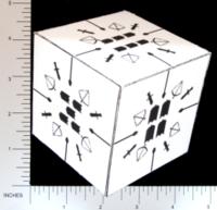 Dice : PAPER D06 Q-WORKSHOP DICE DESIGN CONTEST NOVEMBER 2007 PRZEMEK NOWACZYK 01 WEAPONS