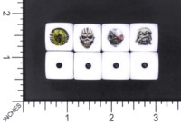 Dice : MINT56 BILL FORD IRON MAIDEN EDDIE FROM KILLERS BOOK OF SOULS SOMEWHERE IN TME POWERSLAVE TOUR