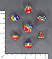 Dice : MINT57 UNKNOWN CHINESE RAINBOW
