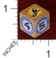 Dice : MINT30 PRINT AND PLAY PRODUCTIONS DUNE EXPRESS ILYA 77 VARIANT SPICE DIE 01
