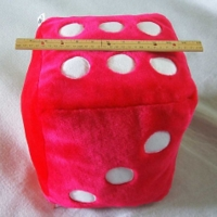 Dice : LOOSE 44 BIG RED PLUSH
