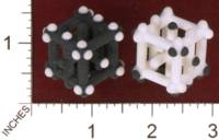 Dice : MINT30 SHAPEWAYS EIN AJAN BLIEJ PIPS DICE X2 02
