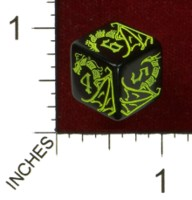 Dice : MINT43 TINDERBOX ENTERTAINMENT DICE EMPIRE SERIES 1 HERE BE DRAGONS