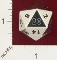 Dice : MINT19 CRYSTAL CASTE CHROME D20 01